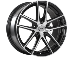 DAI Wheels Level Classic Gloss Black Machined Face