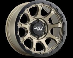 Dirty Life Wheels DRIFTER 9307 Matte Gold with Matte Black Lip