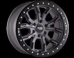 Dirty Life Wheels DT-1 9303 Matte Gunmetal Black Simulated Ring
