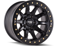 Dirty Life Wheels DT-2 9304 Matte Black with Simulated Ring