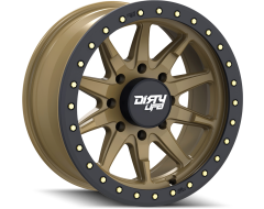 Dirty Life Wheels DT-2 9304 Satin Gold with Simulated Ring