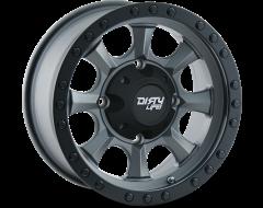 Dirty Life Wheels IRONMAN 9300 Matte Gunmetal Black Beadlock
