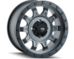 Dirty Life Wheels ROADKILL 9301 Matte Gunmetal Black Beadlock