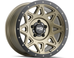 Dirty Life Wheels THEORY 9305 Matte Gold with Matte Black Lip