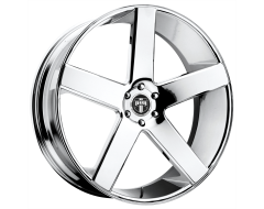 DUB Wheels S115 BALLER Chrome Plated