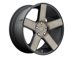 DUB Wheels S116 BALLER Matte Black Double Dark Tint