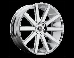 DUB Wheels S120 SHOT CALLA Chrome Plated