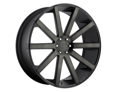 DUB Wheels S121 SHOT CALLA Matte Black Double Dark Tint
