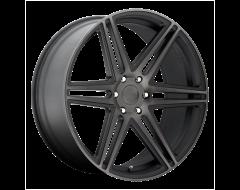 DUB Wheels S123 SKILLZ Matte Black Double Dark Tint