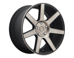 DUB Wheels S127 FUTURE Matte Black Double Dark Tint