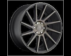 DUB Wheels S128 CHEDDA Matte Black Double Dark Tint