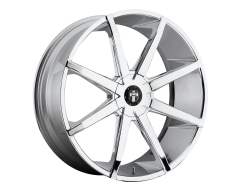 DUB Wheels S201 PUSH Chrome Plated