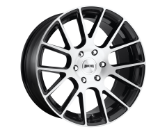 DUB Wheels S206 LUXE Gloss Black Brushed