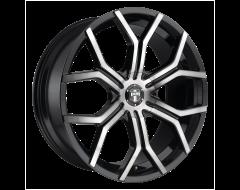 DUB Wheels S209 ROYALTY Gloss Machined Double Dark Tint