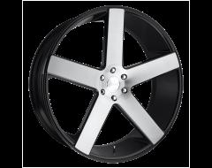 DUB Wheels S217 BALLER Gloss Black Brushed