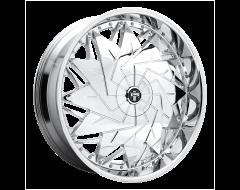 DUB Wheels S235 DAZR Chrome Plated