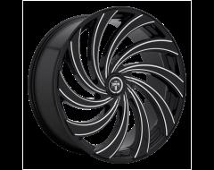 DUB Wheels S239 DELISH Gloss Black Milled Spokes