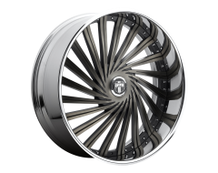 DUB Wheels S241 FAZE Matte Black Double Dark Tint