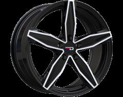 EURO DESIGN Wheels Berlin Gloss Black Polished