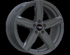 EURO DESIGN Wheels Berlin Matte Gunmetal