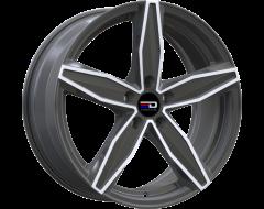 EURO DESIGN Wheels Berlin Polished Gunmetal