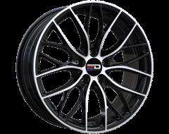 EURO DESIGN Wheels Camillo Gloss Black Machined