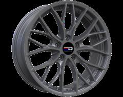 EURO DESIGN Wheels Camillo Matte Gunmetal