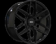 EURO DESIGN Wheels Forza 6 Gloss Black