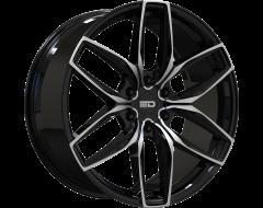 EURO DESIGN Wheels Forza 6 Gloss Black Milled Spokes