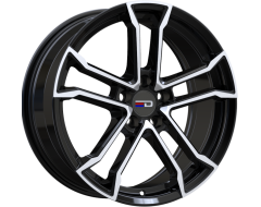 EURO DESIGN Wheels Monaco Gloss Black Polished