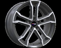 EURO DESIGN Wheels Monaco Polished Gunmetal