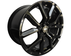 EURO DESIGN Wheels RR-8 Gloss Black