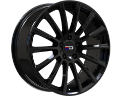 EURO DESIGN Wheels Sacco Gloss Black