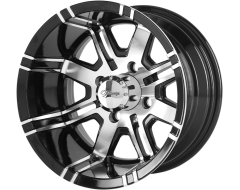 Fairway Alloys FA119 AGGRESSOR Gloss Black Machined