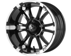 Fairway Alloys FA132 SIXER Matte Black Machined
