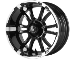 Fairway Alloys FA134 SIXER Matte Black Machined