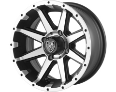 Fairway Alloys FA135 REBEL Matte Black Machined