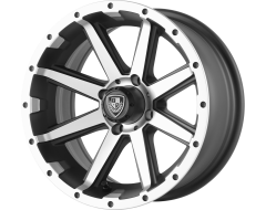 Fairway Alloys FA136 REBEL Matte Black Machined