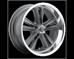 Foose Wheels F099 KNUCKLE Matte Gunmetal Machined