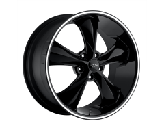 Foose Wheels F104 LEGEND Gloss Black Milled Spokes