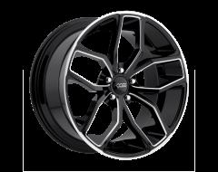 Foose Wheels F150 OUTCAST Gloss Black Milled Spokes