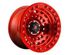 Fuel Off-Road Wheels D100 ZEPHYR BL - OFF ROAD ONLY Candy Red