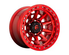 Fuel Off-Road Wheels D113 COVERT BL - OFF ROAD ONLY Candy Red
