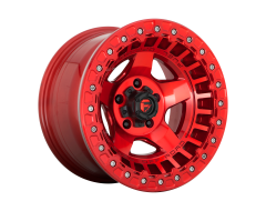 Fuel Off-Road Wheels D117 WARP Candy Red