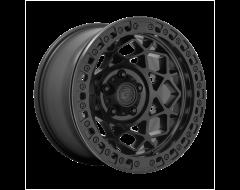 Fuel Off-Road Wheels D120 UNIT BEADLOCK Black Blackout