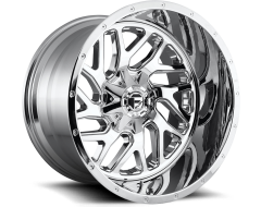 Fuel Off-Road Wheels D210 TRITON Chrome Plated