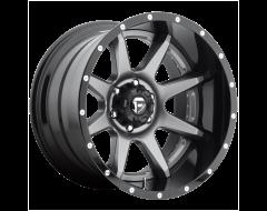 Fuel Off-Road Wheels D238 RAMPAGE Matte Gunmetal Black Lip