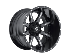 Fuel Off-Road Wheels D251 NUTZ Matte Black Milled