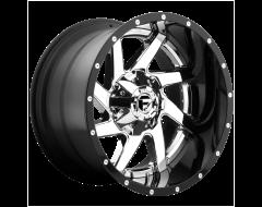 Fuel Off-Road Wheels D263 RENEGADE Chrome Gloss Black Lip