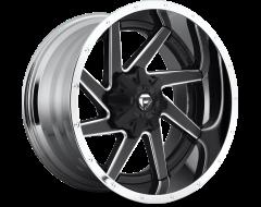 Fuel Off-Road Wheels D264 RENEGADE Matte Black Chrome Lip